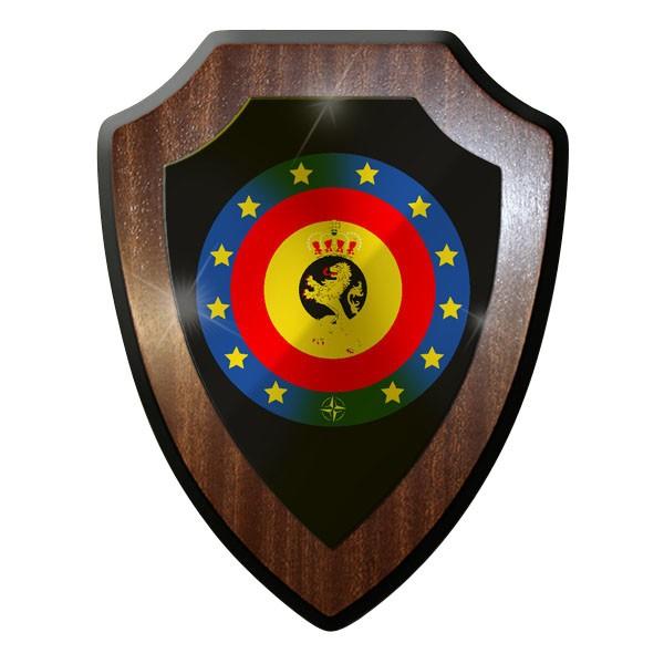 Wappenschild - belgische Streitkräfte Belgien Armeé belge -Emblem #8854