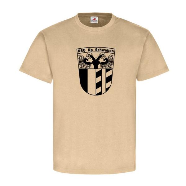RSU Kp Schwaben Regionale Sicherungs Unterstützungs EK Bw - T Shirt #9166