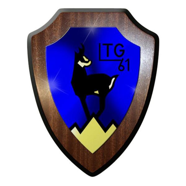 Wappenschild / Wandschild / Wappen - Lufttransportgeschwader LTG 61 #8377