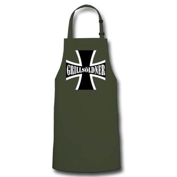 Grillsöldner Braten Backen Kochen Grillen Grill Kochschürze / Grillschürze #9498
