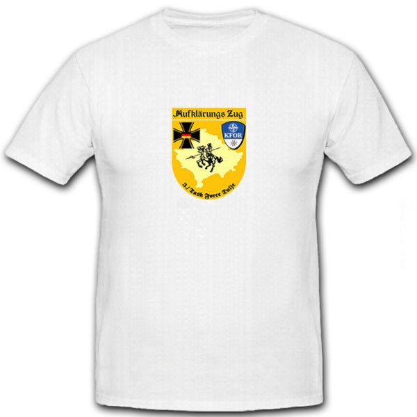 Aufklärungs Zug 3 Task Force Dulje K-FOR- T Shirt #6580