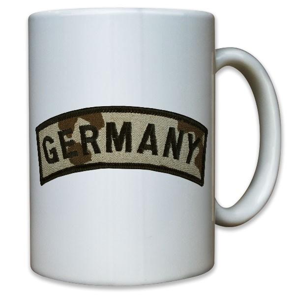 Abzeichen Germany Aufnäher Wüstentarn Afghanistan Einsatz Ärmel - Tasse #10934