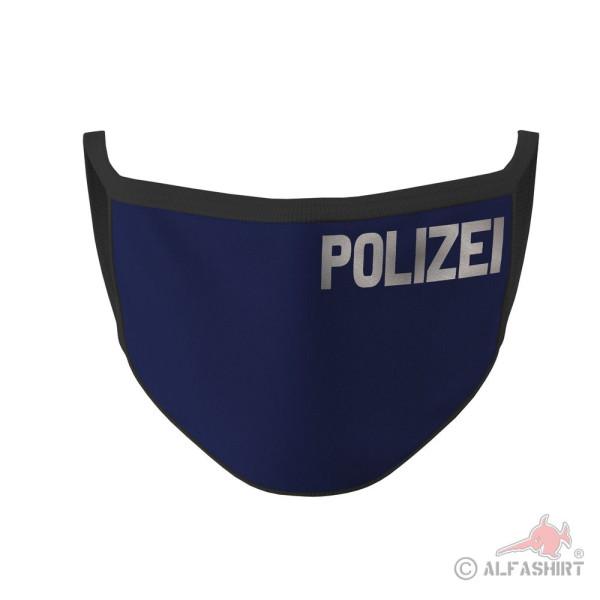 Mundmaske Polizei Dienstzeit Schutz Polizist Beruf Amt Dienstkleidung #35618