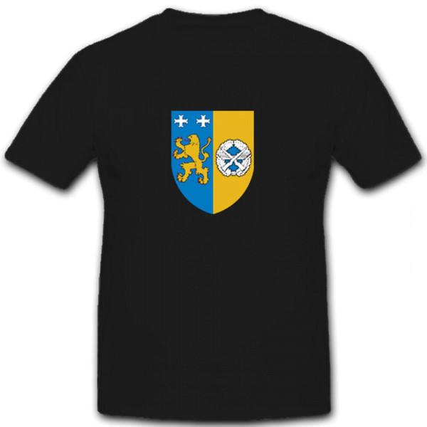 """Wappen des Objektschutzregimentes der Luftwaffe """"Friesland"""" - T Shirt #6111"""