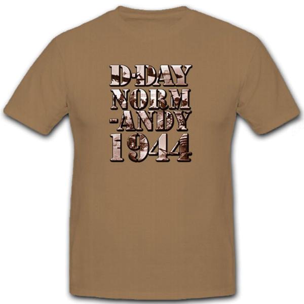 D-Day Normandy 1944 Invasion Omaha Beach Utha Gold Sword - T Shirt #12181