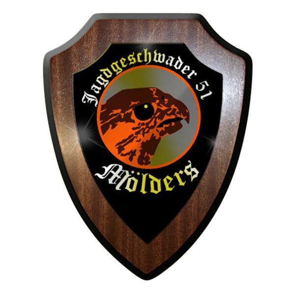 Wappenschild - Jagdgeschwader JG 51 Mölders Traditionsgeschwader #8403
