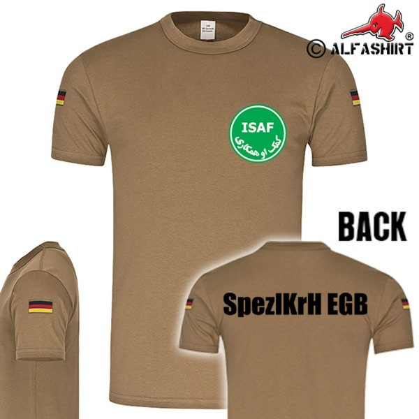 BW Tropics ISAF SpezlKrH EGB Specialized Forces of the Army Tropical T-Shirt # 15573
