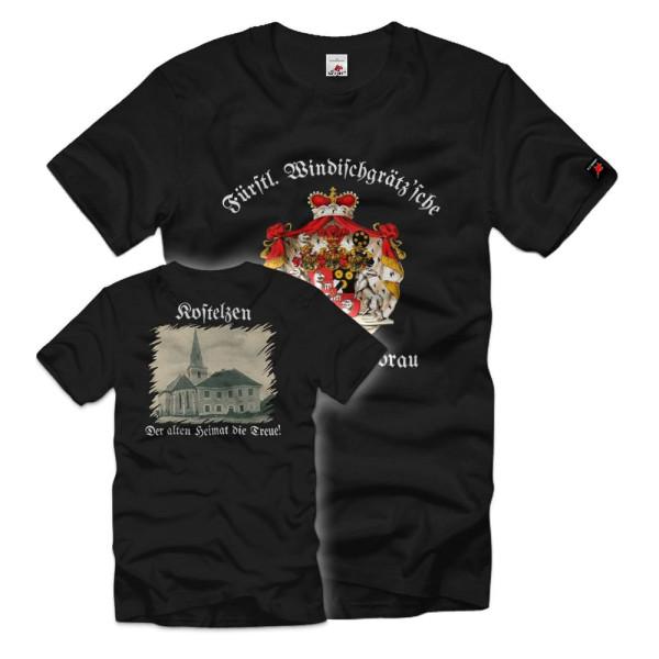 Princely Windisch Graetz'sche Sudentenland Sudenten German T-Shirt # 36264