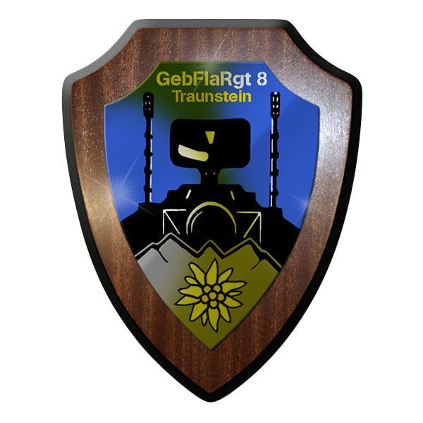 Wappenschild - GebFlaRgt 8 Chiemgau Gebirgs Falk Flugabwehr Regiment #9109