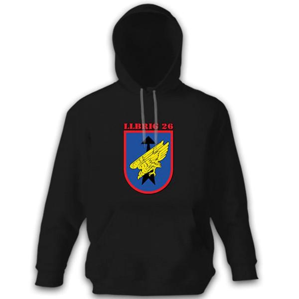 LLBrig 26 Airborne Brigade 26 Saarland Germany Bundeswehr - Hoodie # 11546