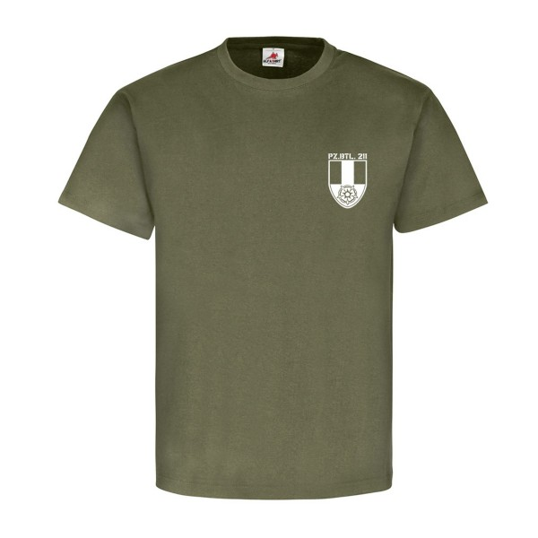 PzBtl 211 Barracks Augustdorf Bundeswehr Germany Military - T Shirt # 12236