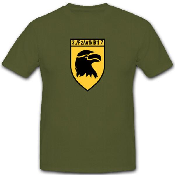 Panzeraufklärungsbataillon 7 Wappen Kompanie Pzaufklbtl - T Shirt #3930