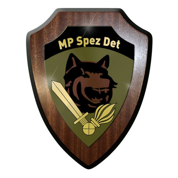 Wappenschild - Militärpolizei Spezial Detachement KSK MP Spez Schweizer #11907