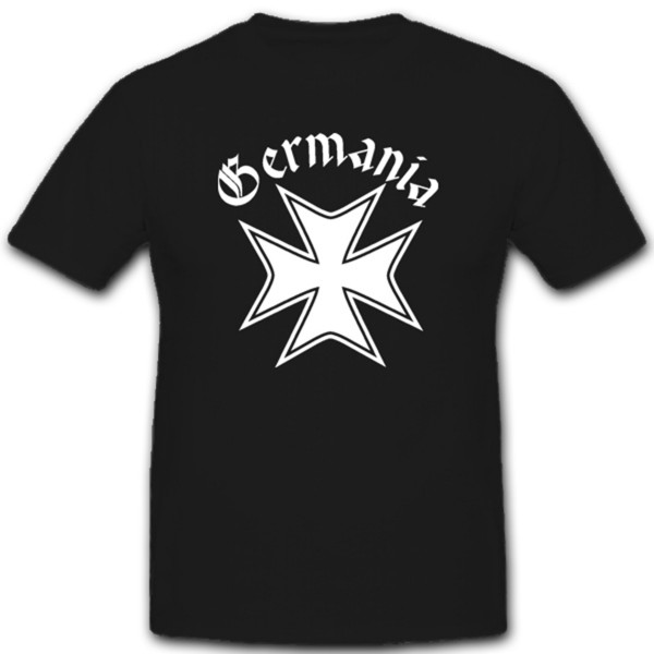 Germania Mittelalter Wappen Kreuz Orden Abzeichen Emblem Germanen- T Shirt #1453