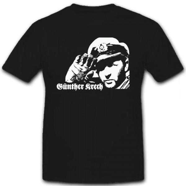 Kapitänleutnant Günther Krech U-558 U-Boot - T Shirt #12446