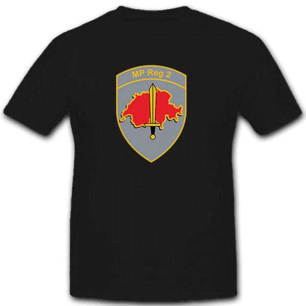 MP Reg 2 Military Police Region 2 Swiss Army Switzerland - T Shirt # 10280