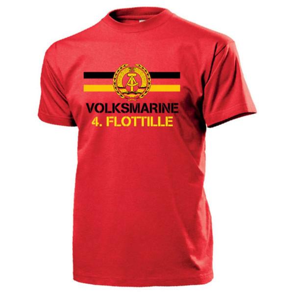 Volksmarine 4.Flottille NVA DDR Nationale Volksarmee - T Shirt #13139