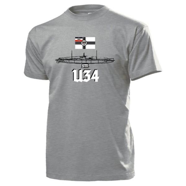 SM U34 U-Boot Kaiserliche Marine erfolgreichstest - T Shirt #13145