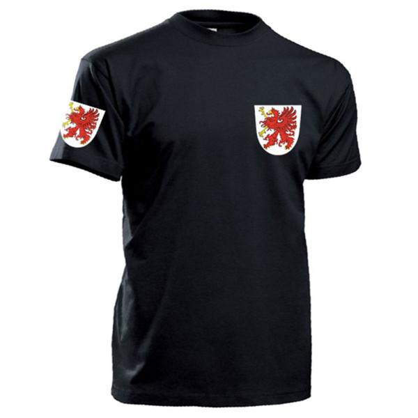 Pommern Wappen Abzeichen Emblem Logo Deutschland Greif - T Shirt #13343