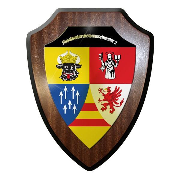 Wappenschild - Flugabwehrraketengeschwader 2 Luftwaffe Bundeswehr #11986