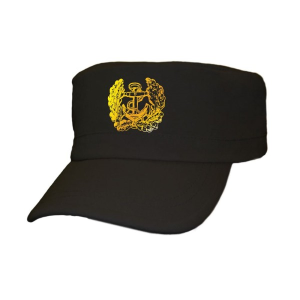 deutsche Marine Eichenlaub Anker Bundeswehr Bund Bw Deutschland - Cap Kappe Baseballcap Kopfbedeckun