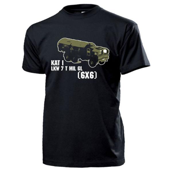 LKW 7 t mil gl KAT I 6x6 Bundeswehr 7 Tonner Oldtimer Militär - T Shirt #14693