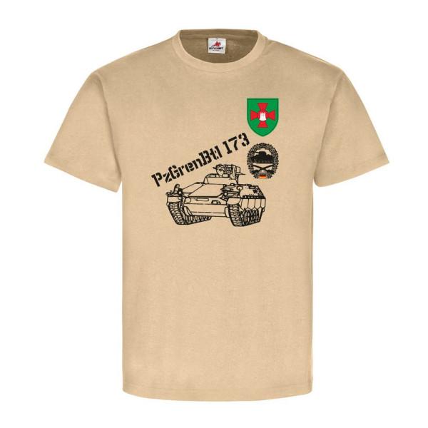 1 Panzergrenadierbataillon 173 mit Schützenpanzer Bundeswehr - T Shirt #6611
