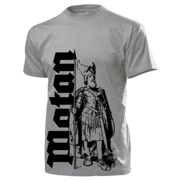 Richard Wagners Wotan Germanen Gott Odin Nibelungen Rheingold - T Shirt #14162