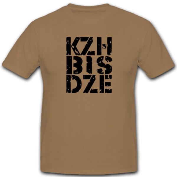 Dienstzeitende Dze Kzh Krank Sanitäter Arzt Zuhauese - T Shirt #4769