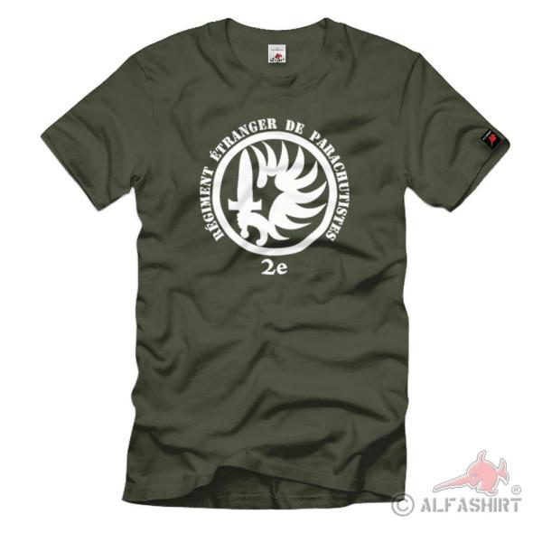 2nd Régiment Étranger de Parachutistes Paratroopers Foreign Legion TShirt # 1188