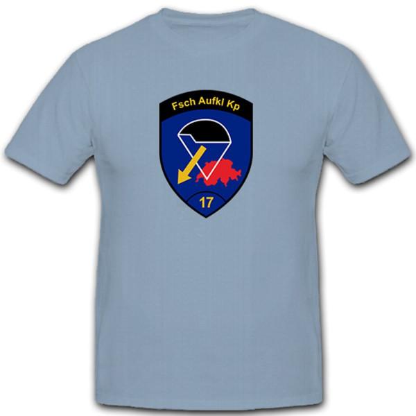 Fsch Aufkl Kp 17 Parachutist Reconnaissance Company KSK - T Shirt # 10257