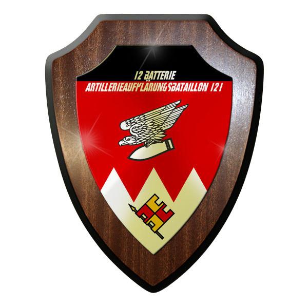 Wappenschild - Batterie Artillerie Aufklärungs Bataillon 121 Bundeswehr - #11726