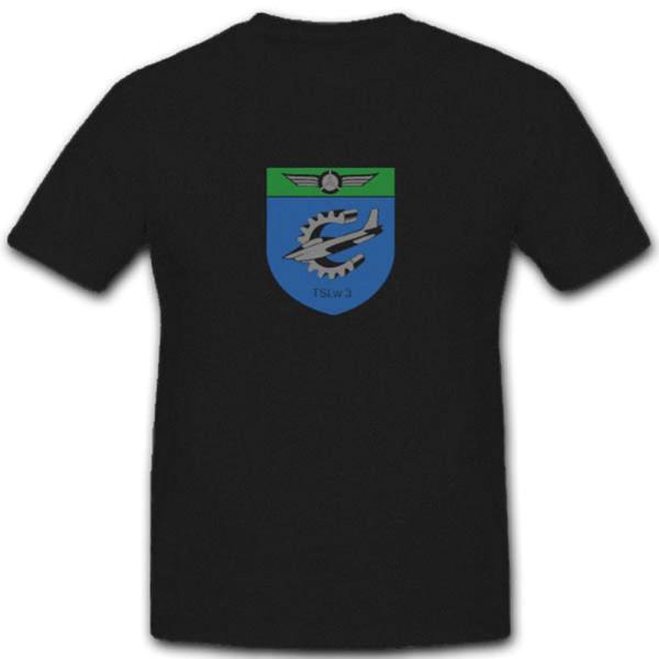 Tslw 3 Wappen Deutschen Bundeswehr Technische Schule Luftwaffe - T Shirt #3868