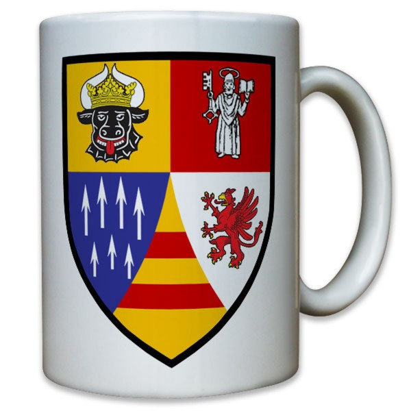 Wappen Flarak 5 21 Kompanie Bataillon Batterie Bundeswehr - Tasse #11809