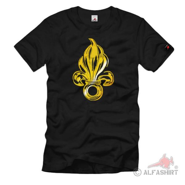 Wappen Logo Granate Legion Fremdenlegion - T Shirt #1192
