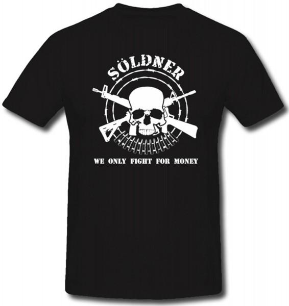 Söldner Isaf Afrika Yugoslawien Bk Totenschädel Waffen- T Shirt ##394