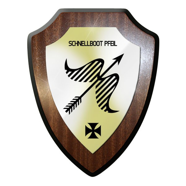 Wappenschild - Schnellboot Pfeil Vosper-Klasse Klasse 153 Bund Emblem #11629