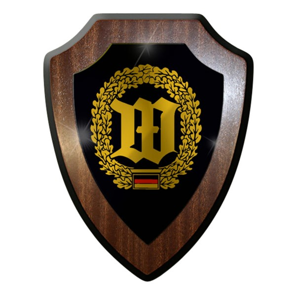 Wappenschild / Wandschild -Wachbataillion Bundeswehr Abzeichen Emblem#7404