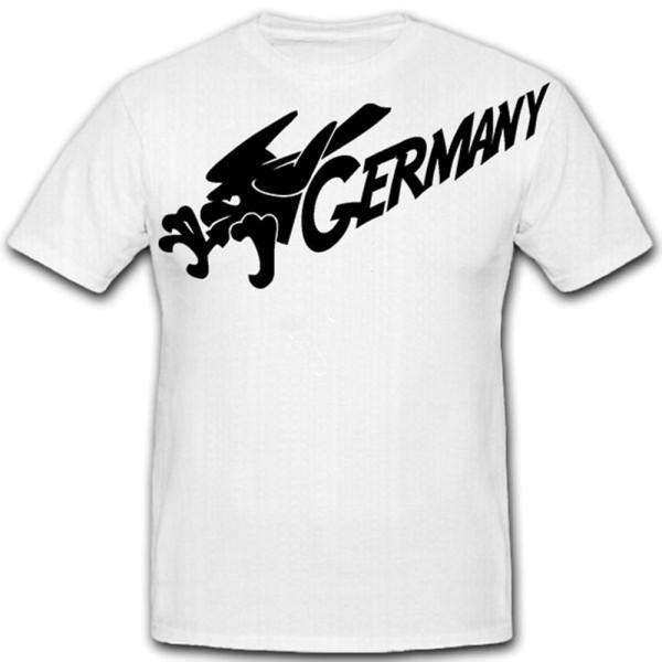 GERMANY_Deutschland Adler Fussball Fan Trikot Wappentier - T Shirt #12942