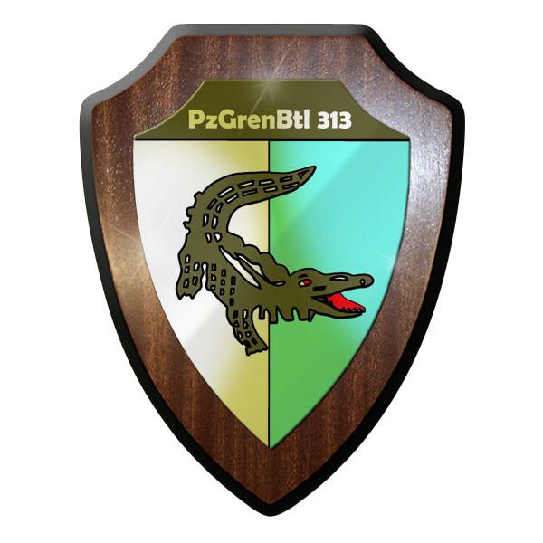 Wappenschild PzGrenBtl 313 PanzerGrenadierBataillon 313 Bundeswehr Bund Bw #9241