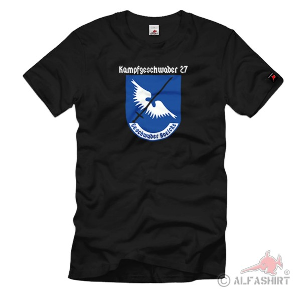 Combat Squadron 27 Supplement Group 4 Air Force Boelcke Air Force T Shirt #1078