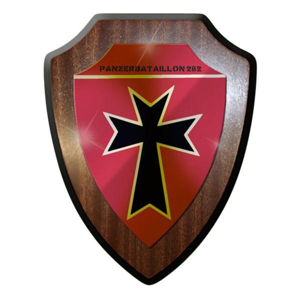Wappenschild / Wandschild / Wappen - Panzerbataillon PzBtl 282 Leo #8413