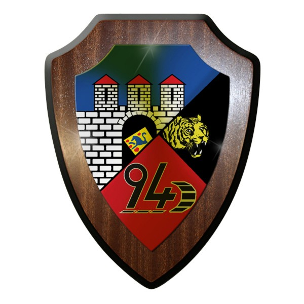 Wappenschild - PzLBtl 94 Panzerbataillon Panzer Bataillon Leopard #9308