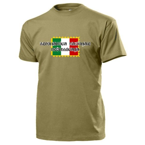 Aeronautica Nazionale Repubblicana Militare Italien Italienisch - T Shirt #13760