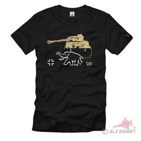 WK Tiger Spzabt WH Heavy Tank Division Bamberg Major Märker - T Shirt # 1254