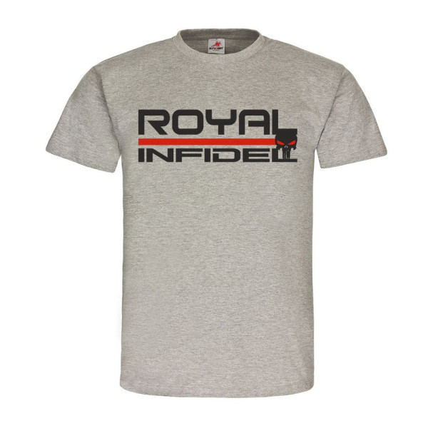 Royal Infidel UK Army great Britain Großbritannien England Emblem T-Shirt #20265