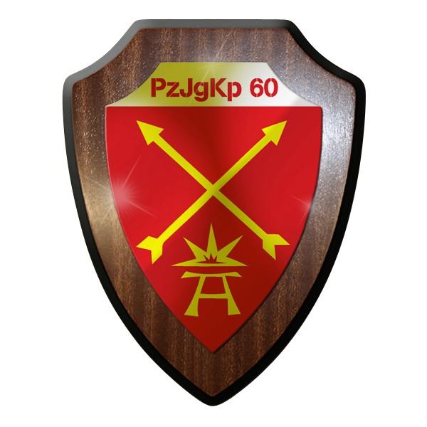 Wappenschild - PzJgKp Panzer Jäger Kompanie 60 Heer Bundeswehr Bund Bw #9288