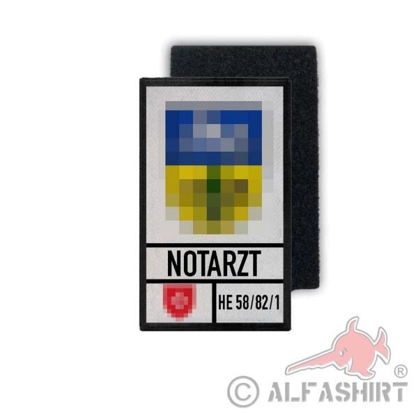 Notarzt Shop Bild 7,5x4,5cm#K00371