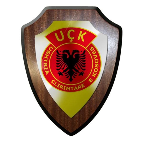 Wappenschild / Wandschild - UCK UÇK Ushtria Çlirimtare e Kosovës Kosovo #6901