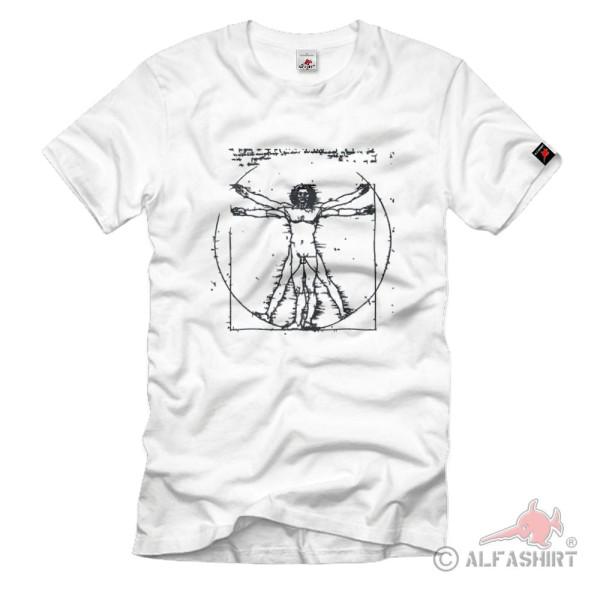 Maler Bildhauer Architekt Anatom Mechaniker Leonardo Da Vinci - T Shirt #1447